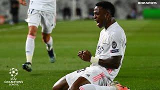 Vinícius Júnior Goal   Real Madrid vs Liverpool   Quarterfinals   UCL on CBS Sports