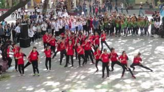 Flashmob lớp 12A19 trường NCT - Quán Quân mùa 2016 -