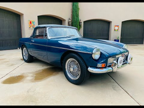 video 1967 MG MGB Roadster