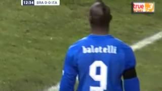 Italia - Brazil Cống hiến hết mình-Video Italia - Brazil -Bong da