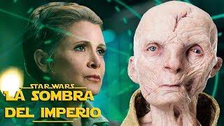 ¡El Secreto De Leia Sobre Snoke Es Revelado! - Star Wars -