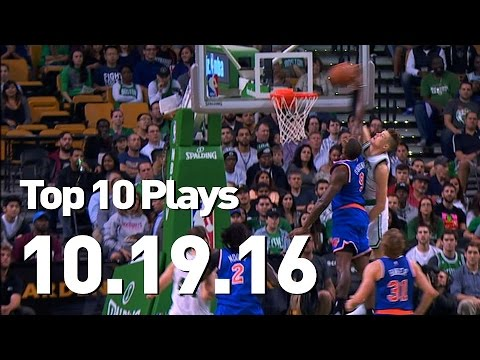 Top 10 Plays: October 19th