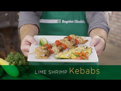 Get Grilling - Lime Shrimp Kebobs