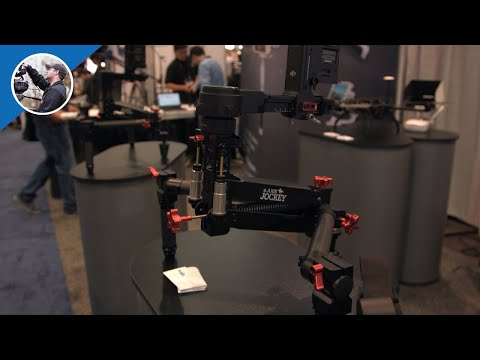 NAB 2016:  Turbo Ace Jockey 4th Axis Stabilizer for 3-Axis Gimbals (4K)