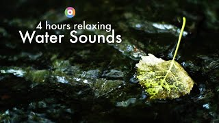 Relaxing white noise water: 4 hours peaceful small river water sounds