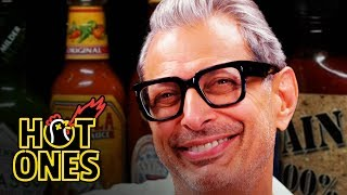 Jeff Goldblum Says He Likes to Be Called Daddy While Eating Spicy Wings | Hot Ones