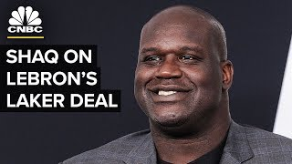 Shaq on LeBron's Lakers Deal And His Business Investments | CNBC