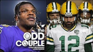 Who has More Pressure, Lamar Jackson or Aaron Rodgers? - Chris Broussard & Rob Parker