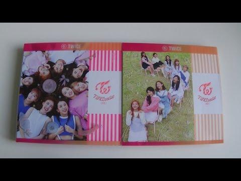 Unboxing TWICE 트와이스 3rd Mini Album TWICEcoaster: LANE 1 (Both A & B Version)
