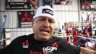 "ROBERT GARCIA ON CANELO VS SPENCE ""IT WOULD BE INTERESTING TO SEE!"""