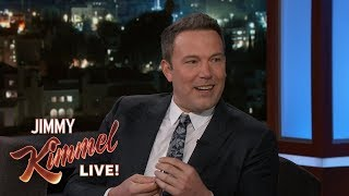 Ben Affleck's Son Doesn't Love the Patriots