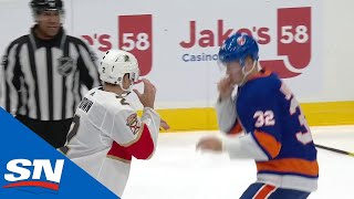 NHL Fights Of The Week: Battle On Long Island!