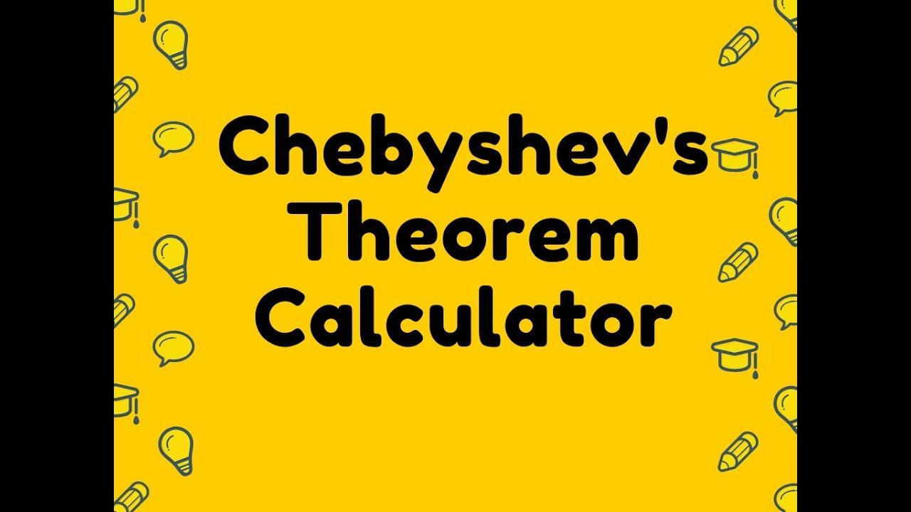 Chebyshevs Theorem Calculator - YouTube