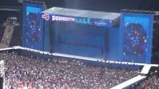 Calvin Harris - Under Control @ Capital fm's Summertime Ball 2014