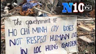 Cưỡng Chế Vườn rau Lộc Hưng Tân Bình Nhớ Chuyện Đồng Tâm , Cả Một Trò Lừa Và Cướp Đất