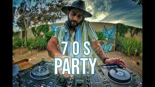 Fiesta 70s (70s party mix, éxitos para bailar como Lobo Vazquez) | Dj Ricardo Muñoz / live from Cabo