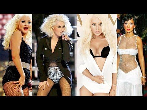 Christina Aguilera's Body Evolution