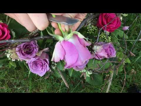 Schyssta rosor på Malmö Garden Show