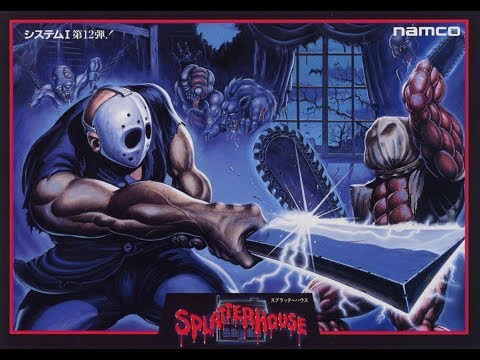 Splatterhouse Arcade Gameplay One Credit All