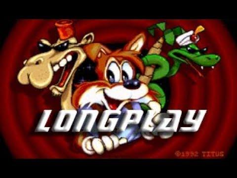 Titus the fox (Commodore Amiga) Longplay