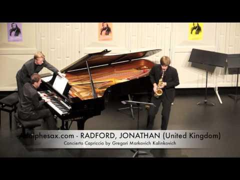 Dinant 2014 - Jonathan Radford Concierto Capriccio by Gregori Markovich Kalinkovich
