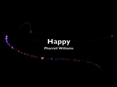 Pharrell Williams - Happy (12AM) with Lyrics 2013 - YouTube