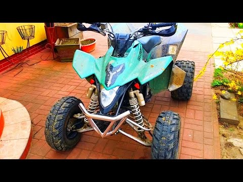New loud exhaust for Quad Bike ! Sound - 2012 LE Suzuki LTZ 400 - Dzik w naturalnym srodowisku :)