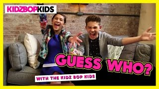 Guess Who With The KIDZ BOP Kids - Part 1 - YouTube