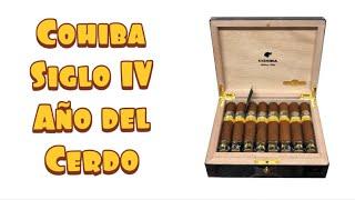 Cohiba Siglo IV Ano del Cerdo (Year of The Pig) Unboxing & Reboxing Cohiba Cuban Cigars
