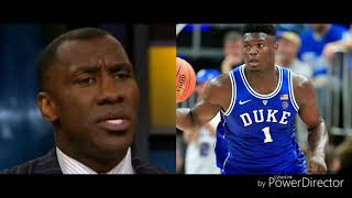 SHANNON SHARPE SPEAKS ON ZION WILLIAMS COMPARED TO LEBRON JAMES
