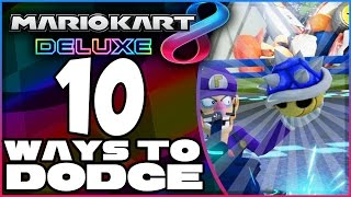 10 Ways To Dodge A Blue Shell In Mario Kart 8 Deluxe!