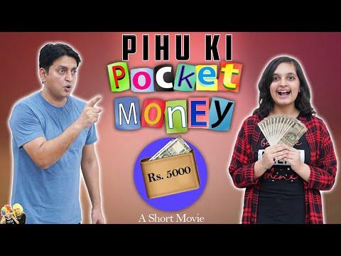 PIHU KI POCKET MONEY | Family Short Movie | Types of teenagers | Aayu and Pihu Show