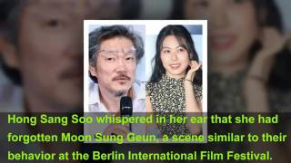Actress Kim Min Hee And Director Hong Sang Soo Give Direct Answer To Reporter's Question About Their
