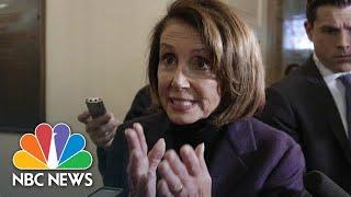Nancy Pelosi: President Donald Trump 'Outing' Afghanistan Trip Is Very Dangerous | NBC News