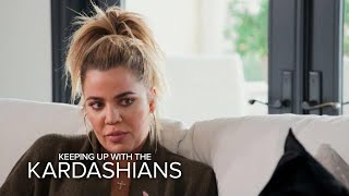 KUWTK | Khloé Kardashian & Malika Haqq Fight to Save Friendship | E!