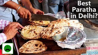 Is this the Best Paratha in Delhi?  Indian Street Food Special
