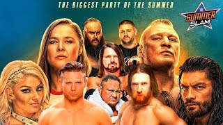 WWE Summerslam 2018 LIVE REACTIONS || MAIN CARD ONLY || WRESTLING TOPIC DISCUSSIONS!