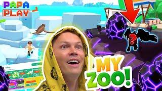 Строю свой ЗООПАРК в My Zoo Tycoon