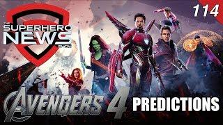 Superhero News #114 - Avengers 4 predictions: What happens now?