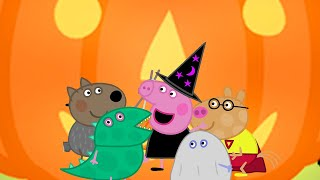Kids TV and Stories   Peppa's Pumpkin Party   Cartoons for Children