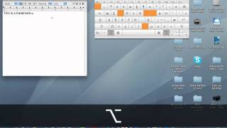 Typing Special Characters On A Mac - YouTube
