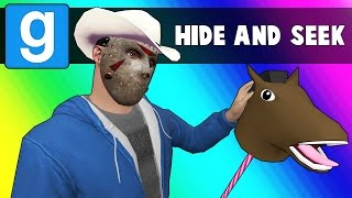 Gmod Hide and Seek - Cowboy Edition! (Garry's Mod Funny Moments)