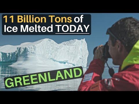 11 Billion Tons of Ice Melted (TODAY IN GREENLAND)