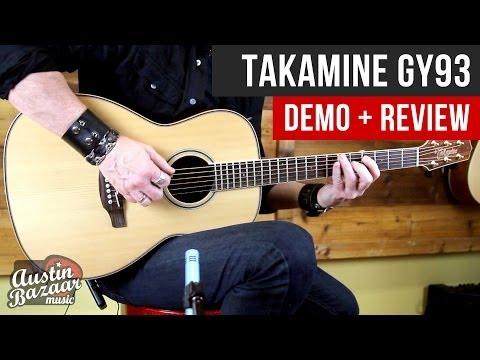 Takamine GY93-NAT Parlour Acoustic Guitar