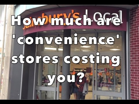How much more are convienience stores costing you