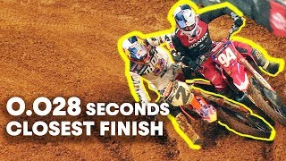 The Closest Finish Ever | Moto Spy Supercross