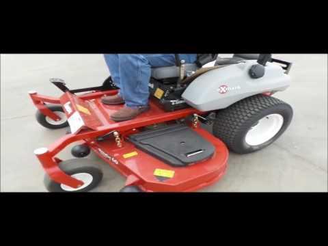 Exmark UltraCut Series 4 ZTR lawn mower for sale | no-reserve Internet auction April 19, 2017