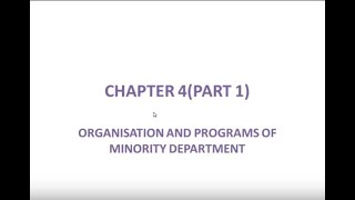 DISTRICT MINORITY OFFICER EXAMINATION ( DMO ) CHAPTER 4 Part-1 By Kpsc Shaale