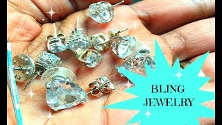Dumpster Diving |  A Bag Full OF Bling Bling Jewelry In The Trash