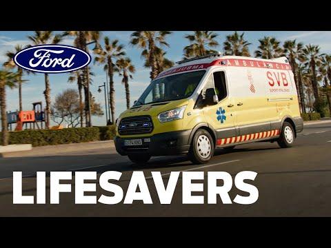 Lifesavers l The Ford Transit: A Hospital on Wheels